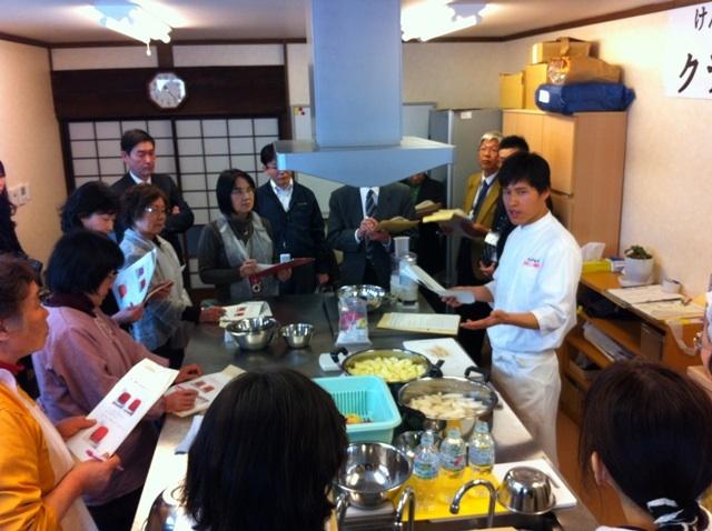 福島県でのフルーツキムチ講習会