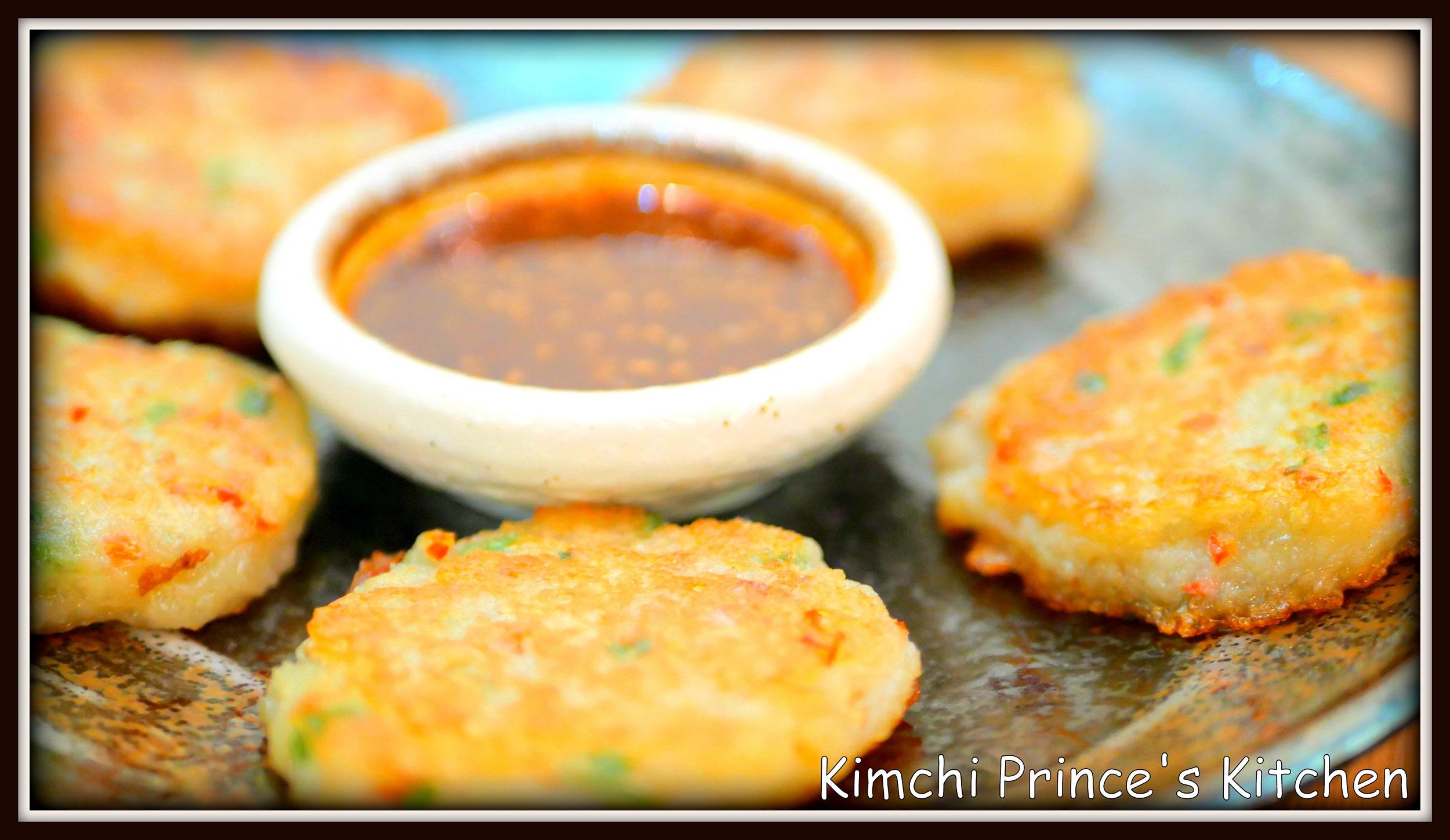 Gamjajeon (Potato pancake)