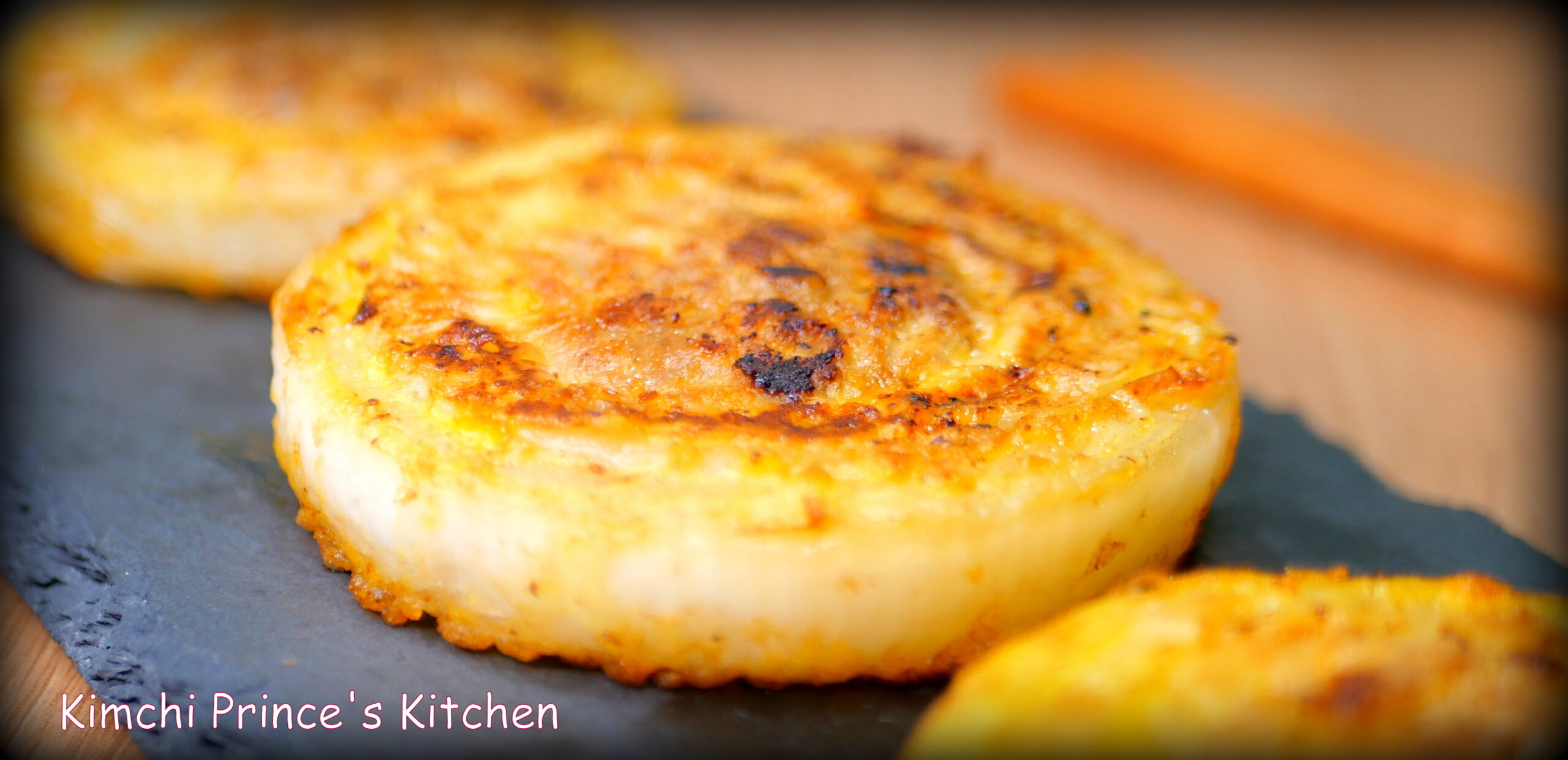New onions pancake