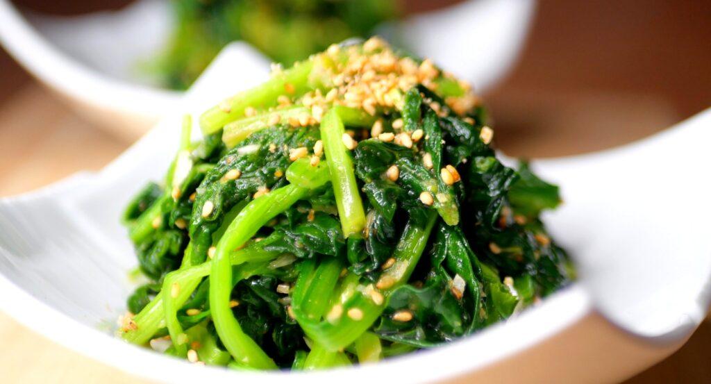 Spinach namul