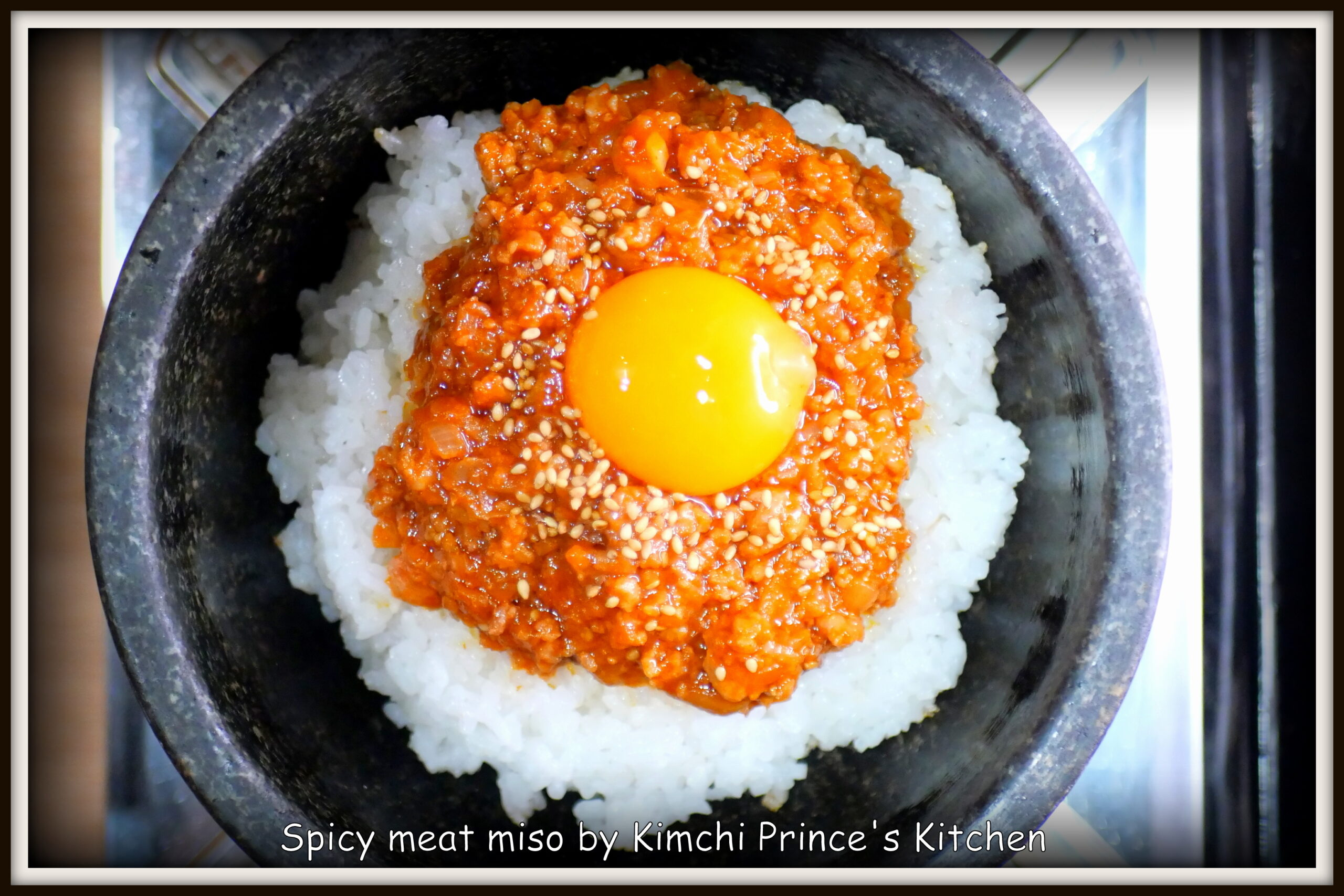 Spicy meat miso