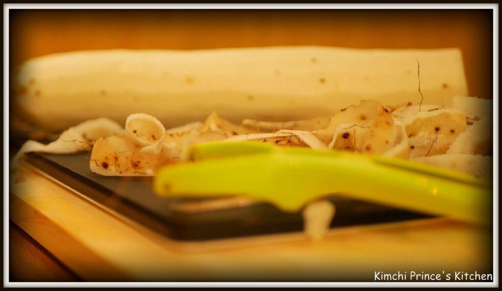 山芋キムチの作り方